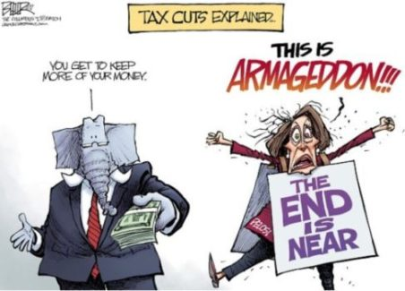 Tax-cut-hysteria