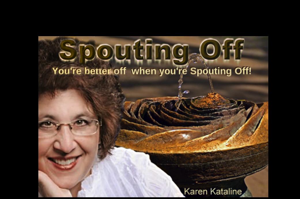 KarenK Spouting Off Graphic