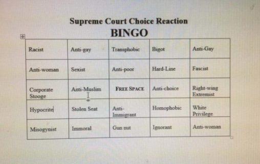 Supreme-Court-bingo