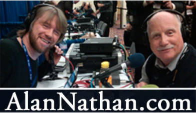 Photo of Kataline in for Alan Nathan, 9.9.20 Guests: Dr. Qanta Ahmed & more