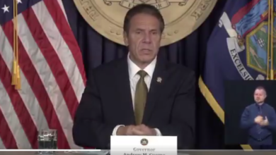 "WATCH NY Nazi Governor Cuomo: ""I'm going to close the synagogues."" - Geller Report News"